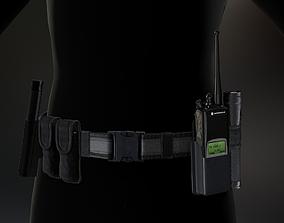 3D asset Duty belt