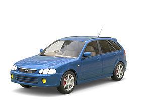 Mazda Familia S-Wagon 3D asset