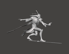 Eternal Sword Master Yi 3D Model