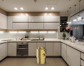 Kitchen waste processor 3D model