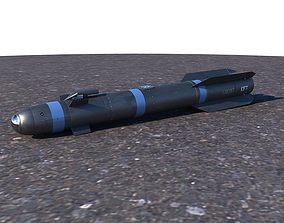 AGM-114 Hellfire II Missile 3D model