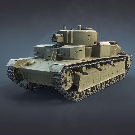 T-28 Soviet Tank
