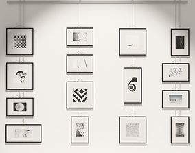Classy Gallery Frames 3D
