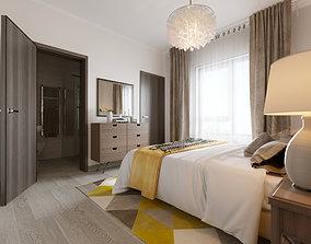 Master bedroom cupboard 3D model