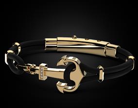 Stylish bracelet Anchor 523 3D print model