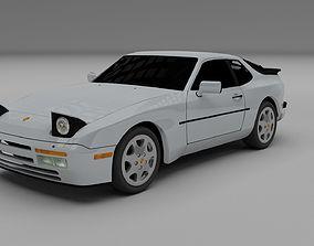 3D model Porsche 944 S2