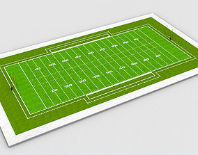 American Football Field NFL 3D