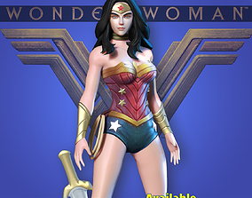 Wonder Woman - Fan art 3D printable model 3dprint