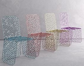 GRID CHAIR COLOURS 3D