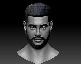 Timati Bust 3D print Black Star face