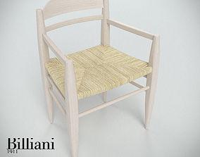 Billiani Vincent VG armchair rope 3D