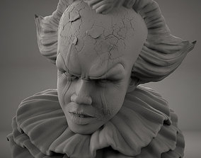 3D printable model statue Pennywise Bust