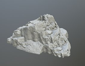 3D printable model rock print