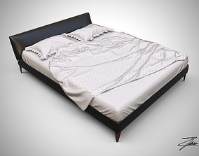Bed 16 VR ready 3D asset game-ready