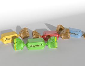 3D model Candy food