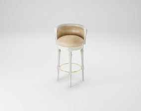 3D asset Furniture series - modern chair - 44