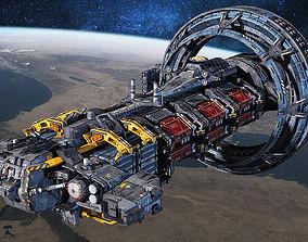 SciFi Hauler 3D model