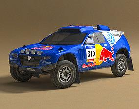 3D asset Volkswagen Touareg Rally 3