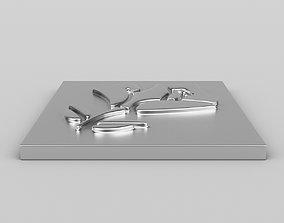 Lancome Logo 3D model
