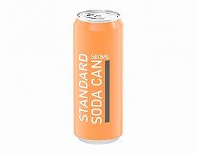 3D Soda Can 500ml