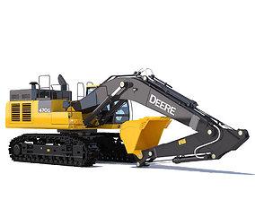 Excavator John Deere 470G 3D