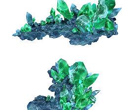 3D model Heterogeneous - Building - Crystal 01