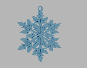 SNOWFLAKE 3D printable model games