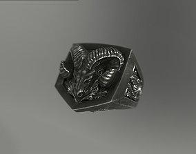 Aries ram ring 3D printable model