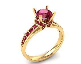 3D printable model 852 diamond ring