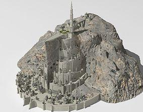 Minas Tirith 3D