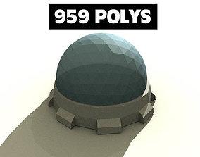 3D asset Moonbase