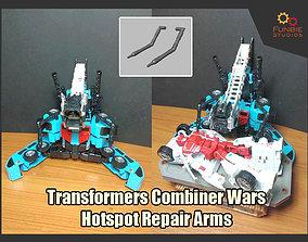 Combiner Wars Hotspot Repair Arms 3D printable model