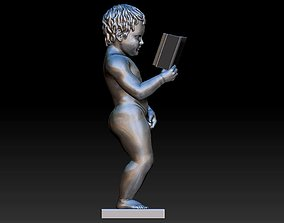 boy pee 3D print model