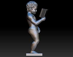 boy pee 3D printable model interior
