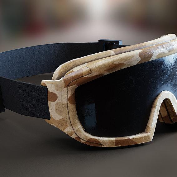 Military Camo Goggles