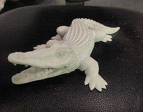 Crocodile hollow 3D print model creature