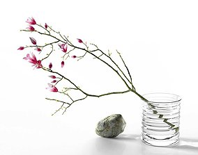 3D model Magnolia Stone Composition