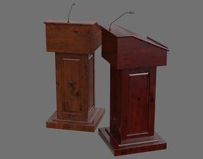 3D model Podium 1A