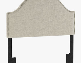 3D PU5477 Glam Upholstered Arch Headboard