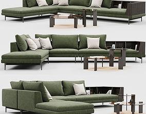 corner Ditreitalia KIM sofa 3D