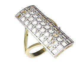 jewellery gold Ring 3D print model