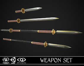 3D Melee Weapon Set A1