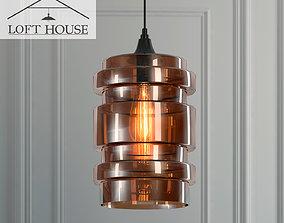 3D model Hanging lamp LOFT HOUSE P-159
