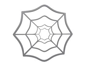 Spider Web v1 001 3D asset