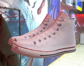 Chuck Taylor High Top Sneaker 3D model