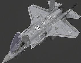 3D asset F35 A