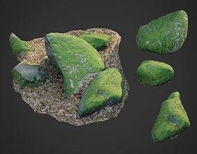 nature stone 007 3D