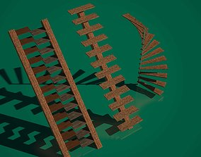 3D asset Stairs