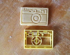 3D printable model Vintage Photo Camera Cookie Cutter