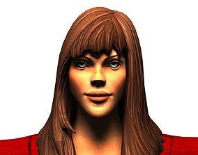 3D model Elven Priestess